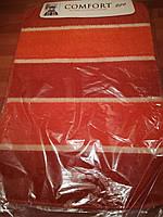 Коврики для ванной и туалета 50*80 см, без резиновой основы Оранжевый