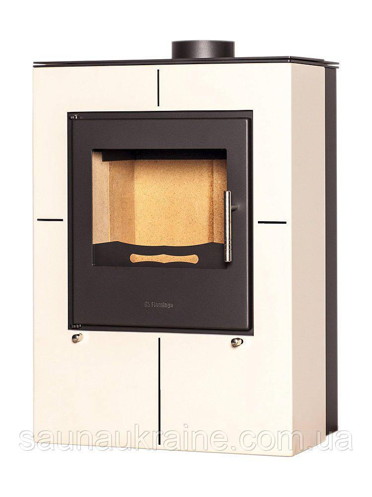 Отопительная печь-камин FLAMINGO EVENES (кремовый)