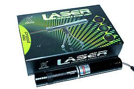 Мощный лазер HJ-309 красный,зеленый цвет+ремешок на руку