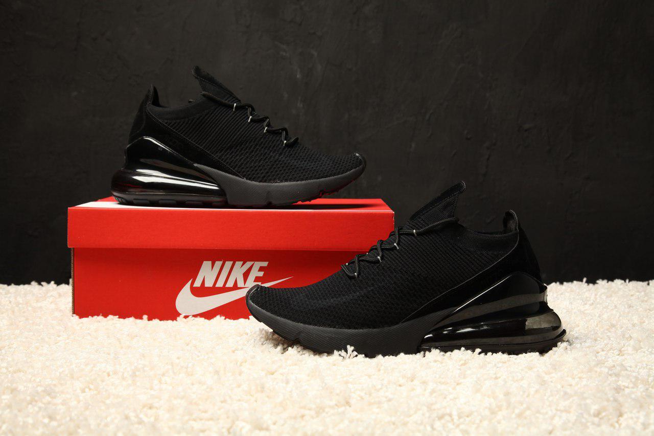 e3ed83b03af Мужские кроссовки Nike Air Max 270 Flyknit - Текстильная сетка ...