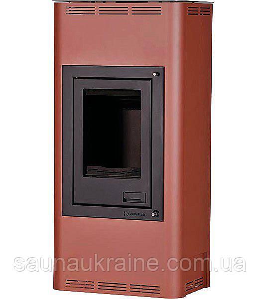 Отопительная печь-камин AQUAFLAM 7 с водяным контуром авт. рег. (бронза)