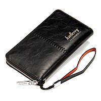 Портмоне, кошелек, клатч, кожаный кошелек, Baellerry Leather SW008, мужское портмоне, бумажник