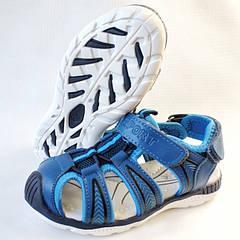 Детские босоножки сандалии для мальчика синие Tom.m 26р.-31р. 3834