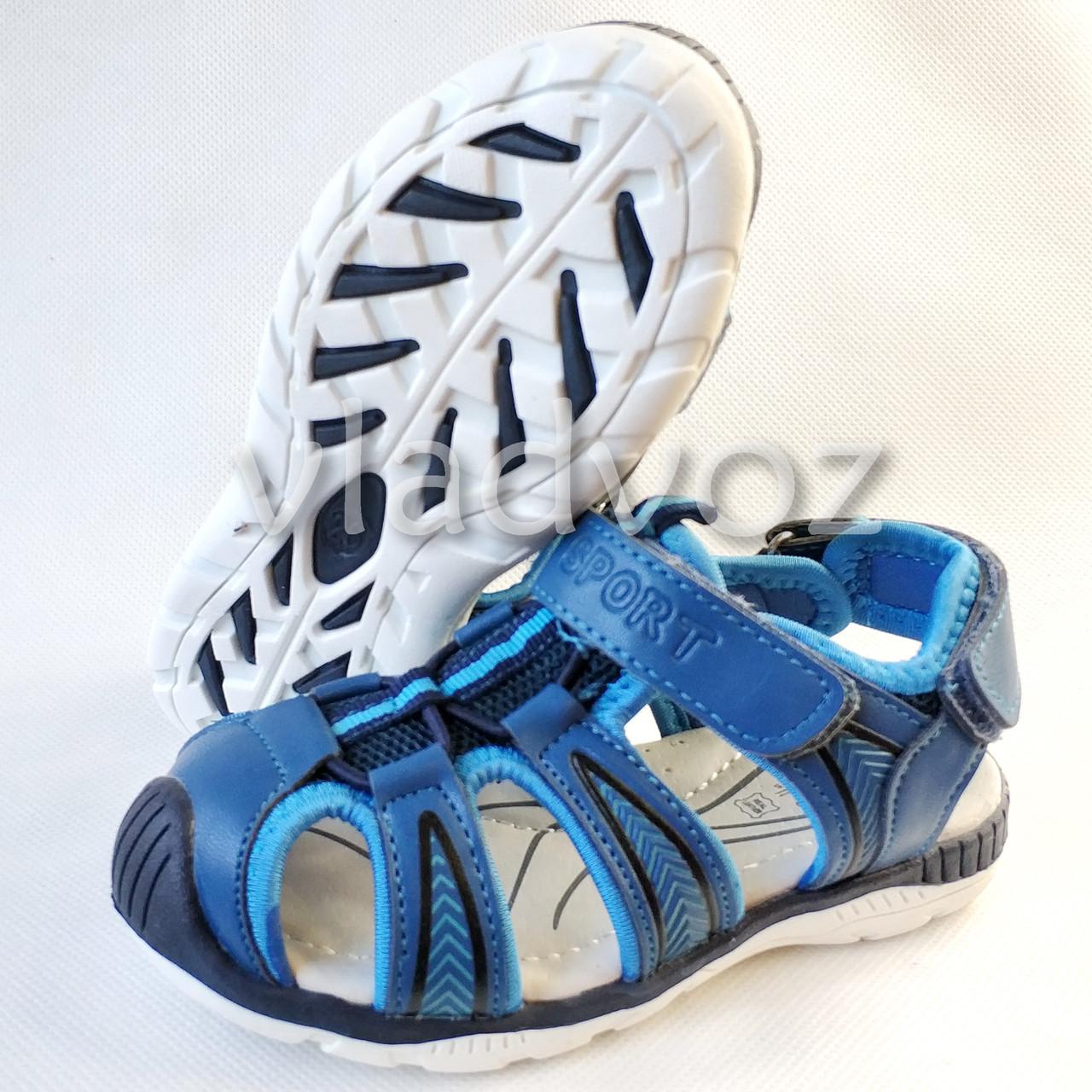 453135c09 Босоножки сандалии для мальчика на мальчиков мальчику Tom.M синий Спорт