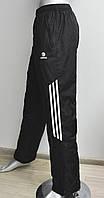 Спортивные теплые штаны мужские Adidas, зимние спортивные штаны