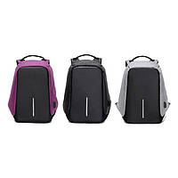 Рюкзак, городской рюкзак, рюкзак антивор, Bobby (Бобби), рюкзак для ноутбука, рюкзак с usb зарядкой