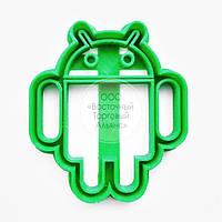 """3D формы для пряников - Вырубка """"Логотип Android"""""""