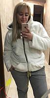 Шубка женская с капюшоном с 50 размера по 56, фото 1