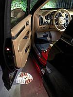 Подсветка двери Porsche Cayenne Macan, фото 1