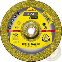 Зачистные круги для металла универсальные 6*180 мм A 24 Extra Kronenflex (Klingspor) 13444