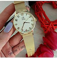 Часы CK золото 01