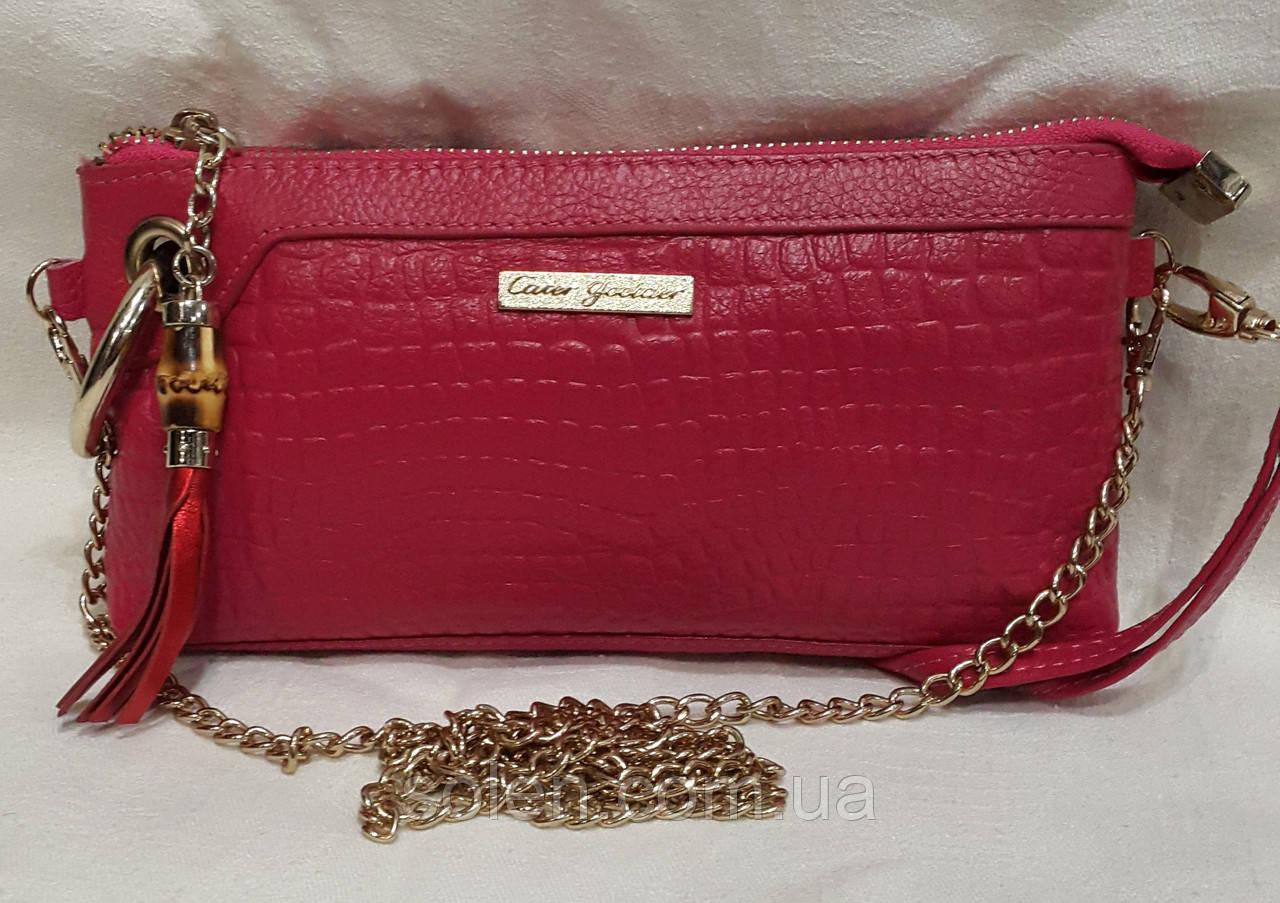 07306bdff341 Маленькая стильная сумочка на цепочке.Кожаная маленькая сумочка ...