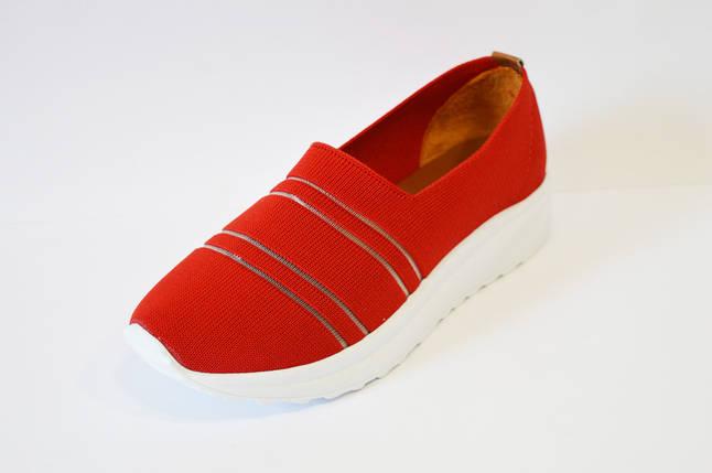 6a2957b5aa1273 Слипоны женские текстиль красные Savino: продажа, цена в Александрии ...