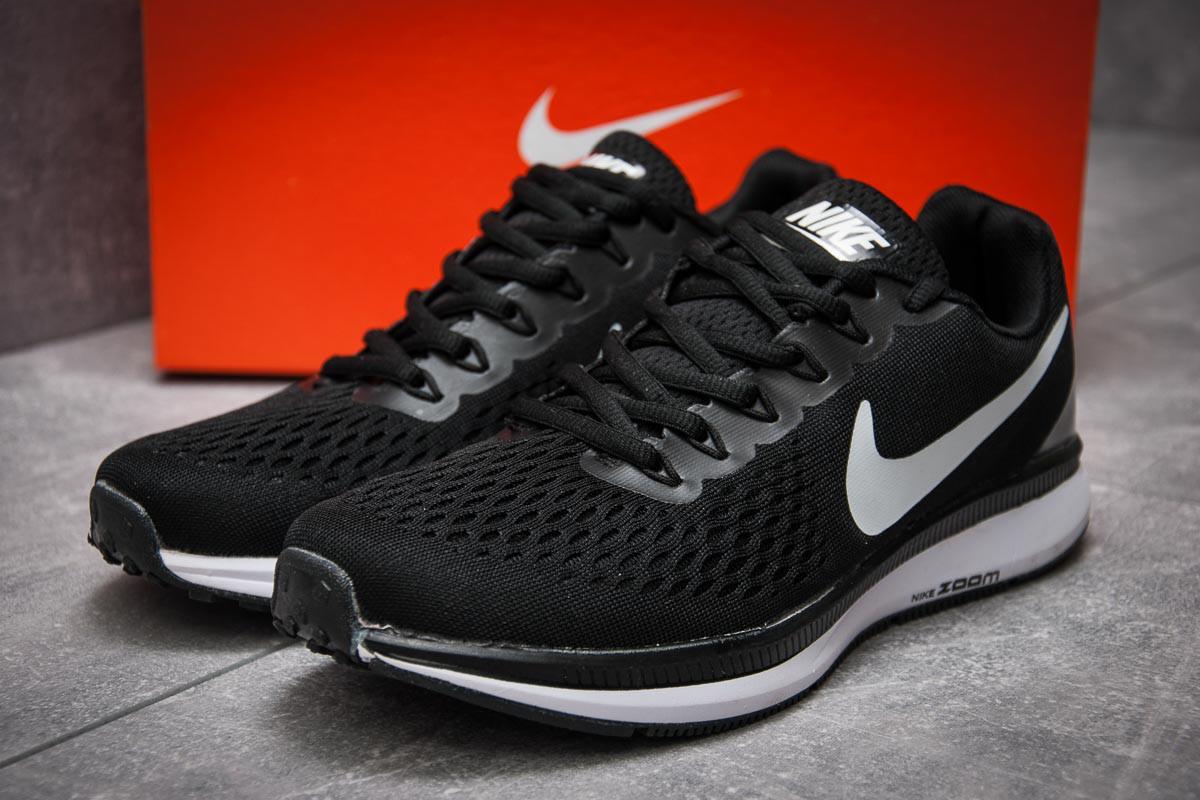 Кроссовки мужские Nike Zoom Pegasus 34, черные (12593), р. 40 - 45