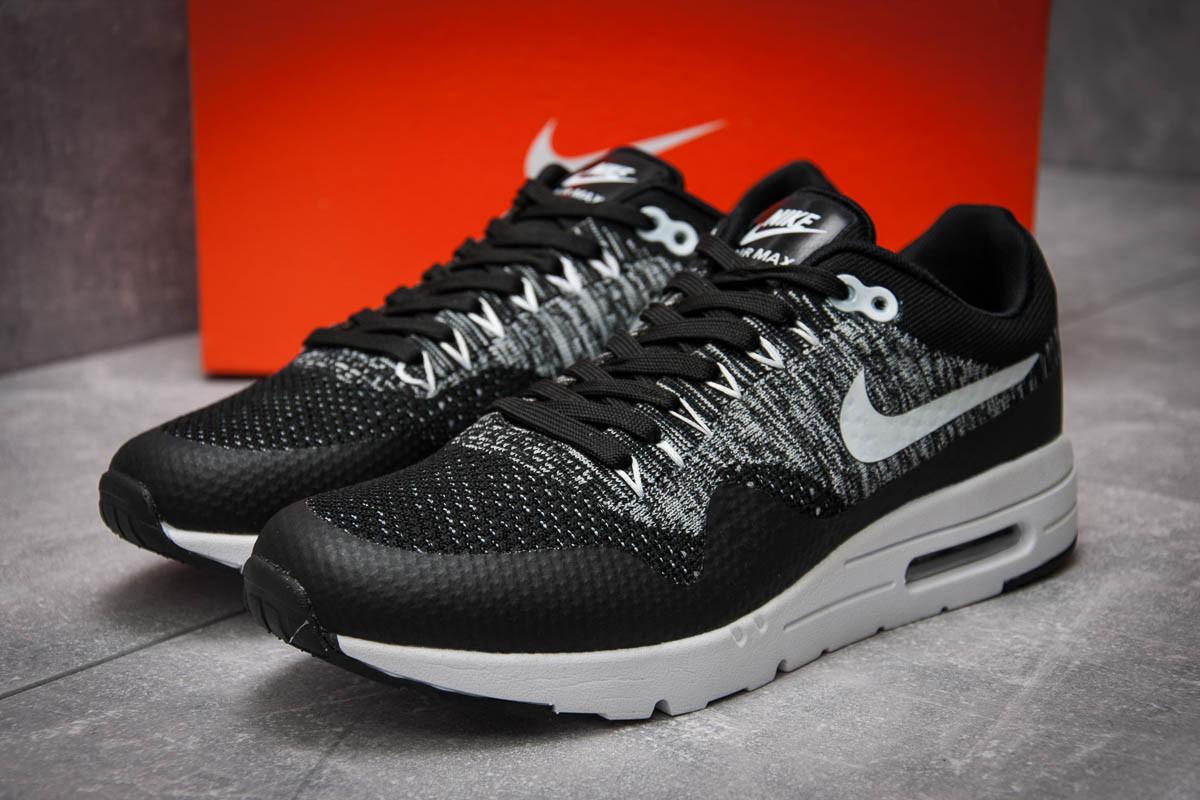 Кроссовки мужские Nike Air Max, черные (12543), р. 41 - 46