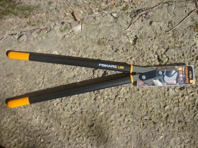 Сучкорез PowerGear™ Steel контактный от Fiskars (L) L99 (112480)