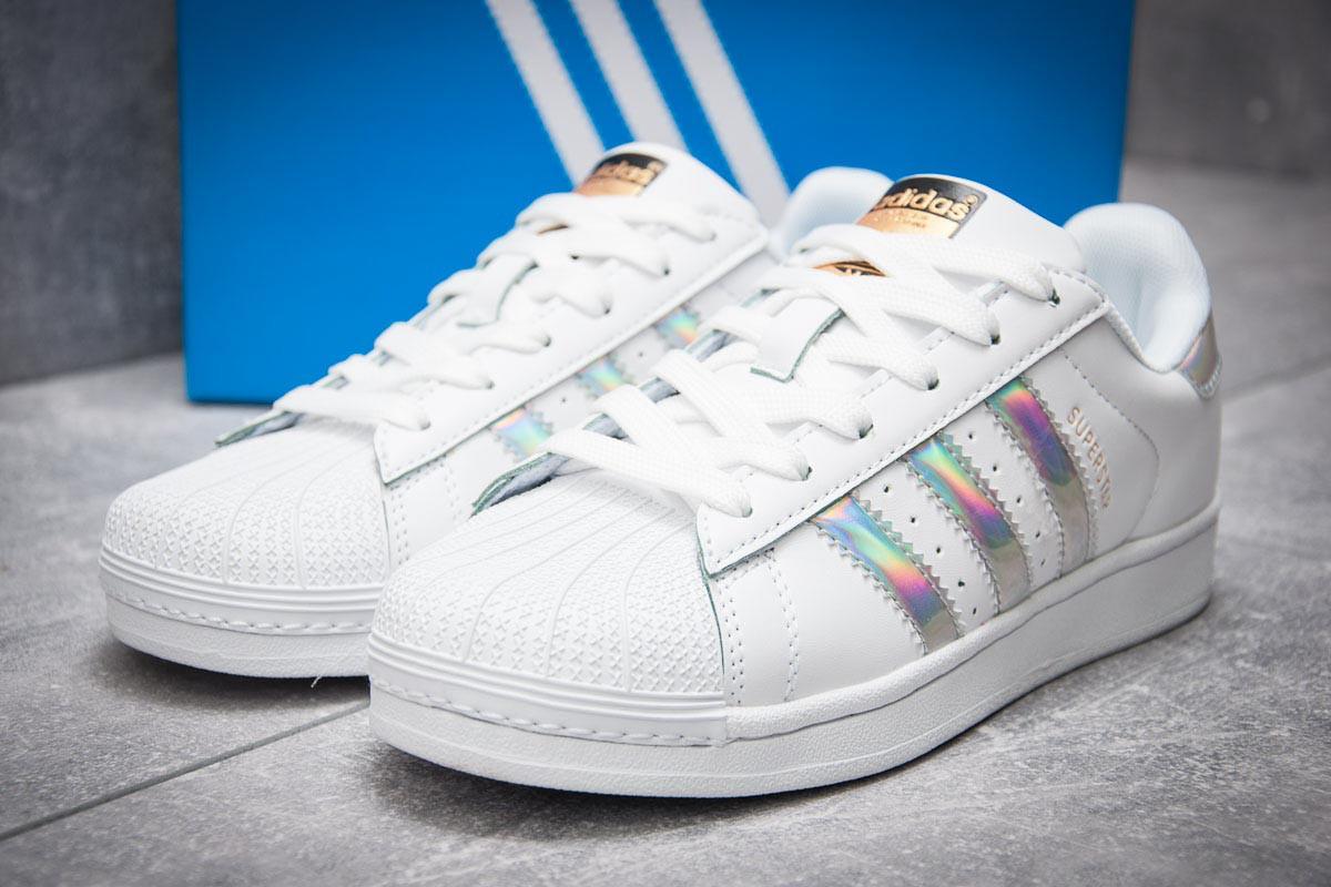 Кроссовки женские Adidas Superstar, белые (12711), р. 36 - 41