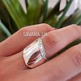 Серебряное кольцо - Женское кольцо серебро, фото 5