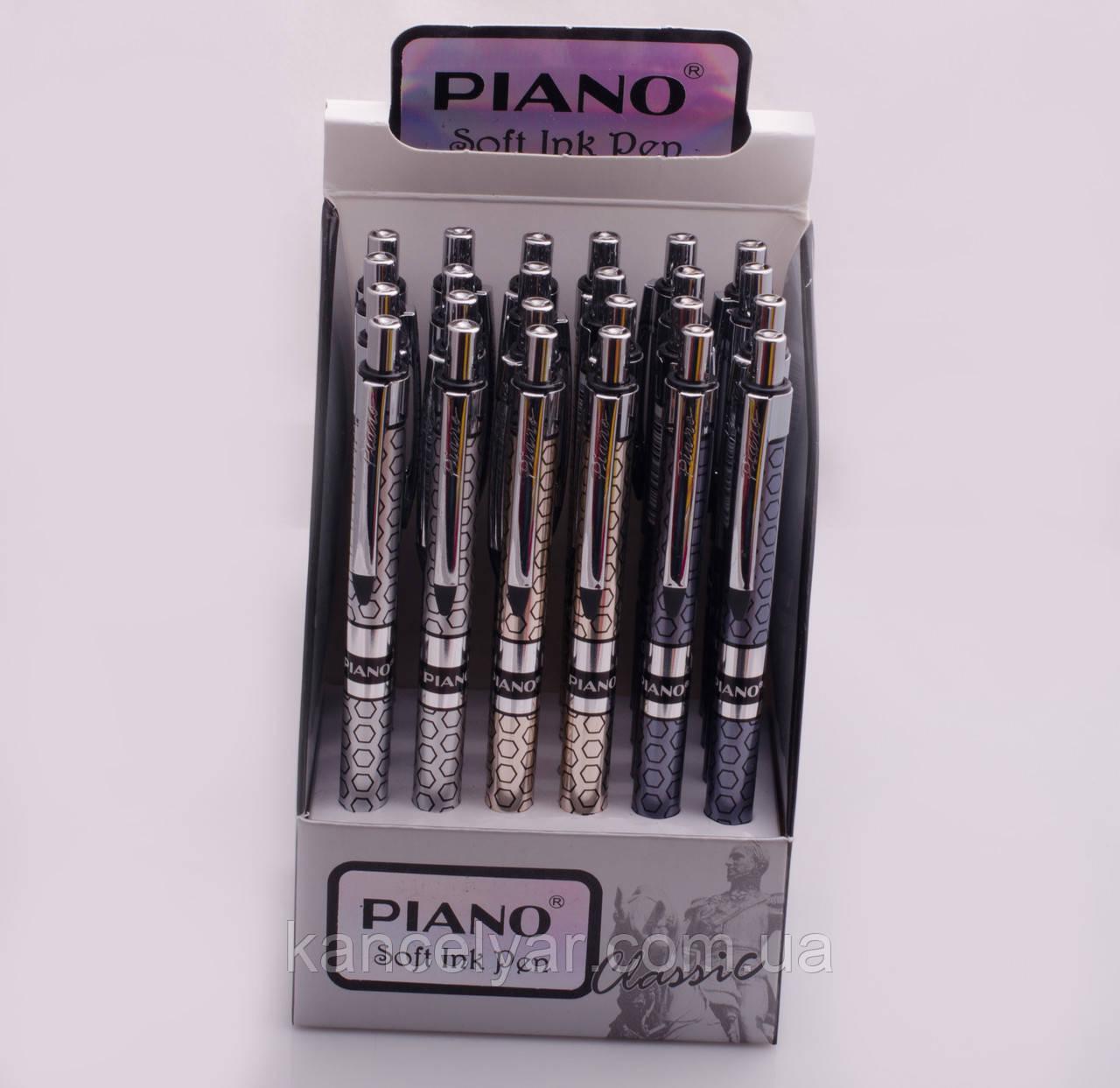 Ручка масляна Piano, автомат, в асортименті