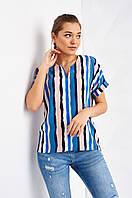 Летняя женская блуза Одри с модным принтом