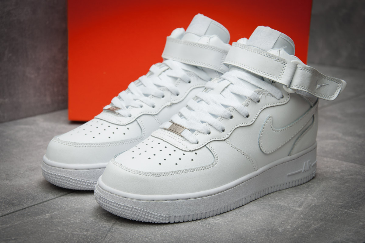 Кроссовки мужские Nike Air Force, белые (12361), р. 41 - 45