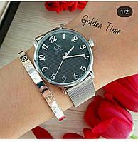 Часы CK серебро 03