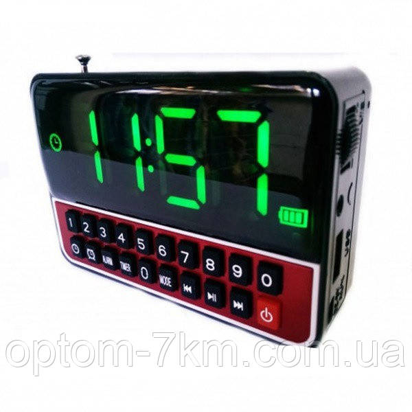 Мобільна Колонка SPS CR562 BT+ Clock S