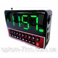 Мобильная Колонка SPS CR562 BT+ Clock S