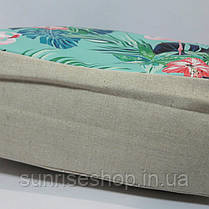 Пляжная сумка текстильная летняя Фламинго опт и розница, фото 2