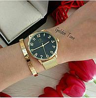Часы CK золото 04