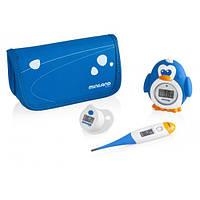 Комплект из 3 цифровых термометров Thermokit, Miniland Baby цвет синий