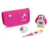 Комплект из 3 цифровых термометров Thermokit, Miniland Baby цвет розовый