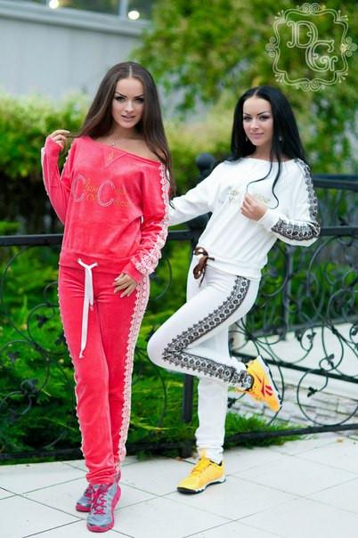 Спортивный костюм VDP (ГЛ) - Секрет  женская одежда оптом в Одессе
