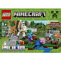 Конструктор Лего Железный голем  LEGO Minecraft The Iron Golem 21123