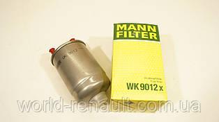MANN WK 9012X - Топливный фильтр на Рено Меган 3, Рено Флюенс 1.5dci K9K