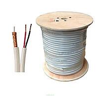 Trinix RG59+2*0,44 mm Комбинированный кабель, 305M/Roll, фото 1