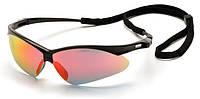 Очки велосипедные Pyramex PMXtreme Ice Orange Mirror Lens Оранжевые линзы, Антибликовые, Противоосколочные