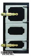Дверка спаренная топочная + поддувальная MASTERTOOL 92-0369