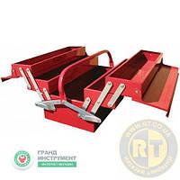 Ящик для инструмента 5 секций 495(L)x200(W)x290(H) мм TORIN TBC122B