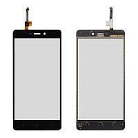 Оригинальный сенсорный экран Xiaomi Redmi 3S черный (тачскрин, стекло в сборе), Оригінальний сенсорний екран Xiaomi Redmi 3S чорний (тачскрін, скло в