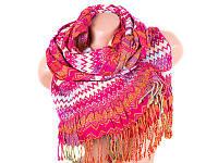 Шарф Venera Лучший корпоративный подарок к праздникам шарф зимний вискоза VENERA (ВЕНЕРА) C270012-pink
