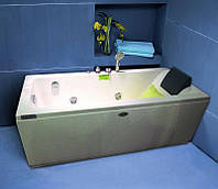Ванна с гидромассажем и пневмокнопкой Appollo 180x80x60 АT-9014 левая (код 053134), фото 1