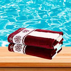 Полотенце для пляжа, Ozdilek полоса 70x140