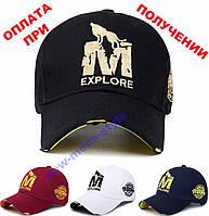 Мужская чоловіча фирменная стильная кепка бейсболка блайзер EXPLORE M, фото 1