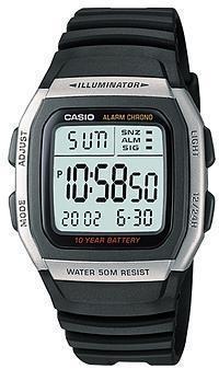 Наручные мужские часы Casio W-96H-1AVEF оригинал