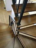 Лестницы. Каркасы лестниц под обшивку. Открытые металлические лестницы, фото 8