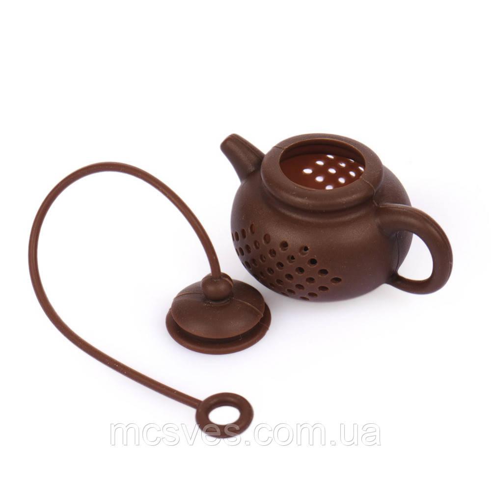 """Заварник силиконовый """"Чайник"""" Ситечко для чая"""