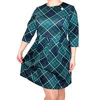 """Платье женское """"Шотландка"""" 220"""