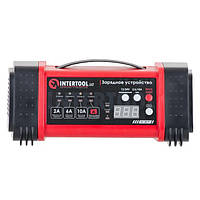 Зарядка для автомобільного акумулятора 12/24В, 2/6/10А, 2/6A, 230В INTERTOOL AT-3019