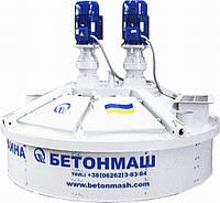 Бетоносмеситель планетарно-роторный СБ-242-8М.Бетономешалка